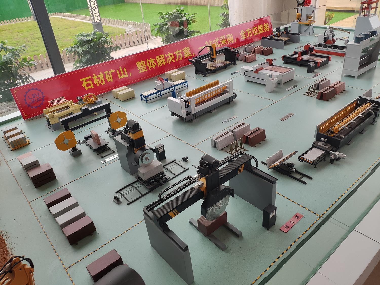 Stone processing workshop