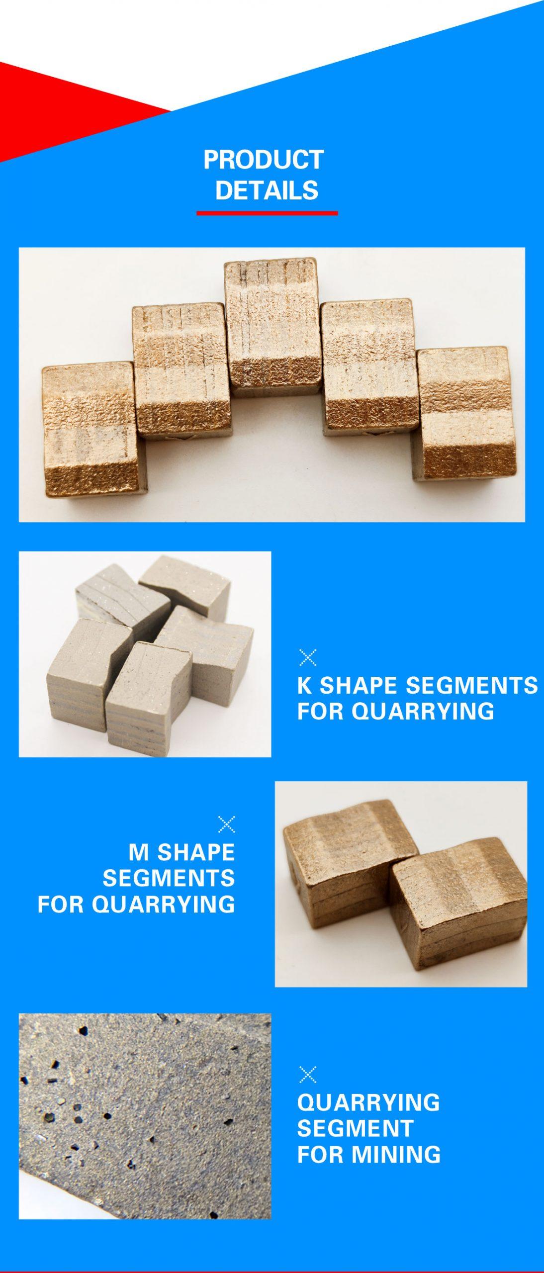 quarry segments for granite