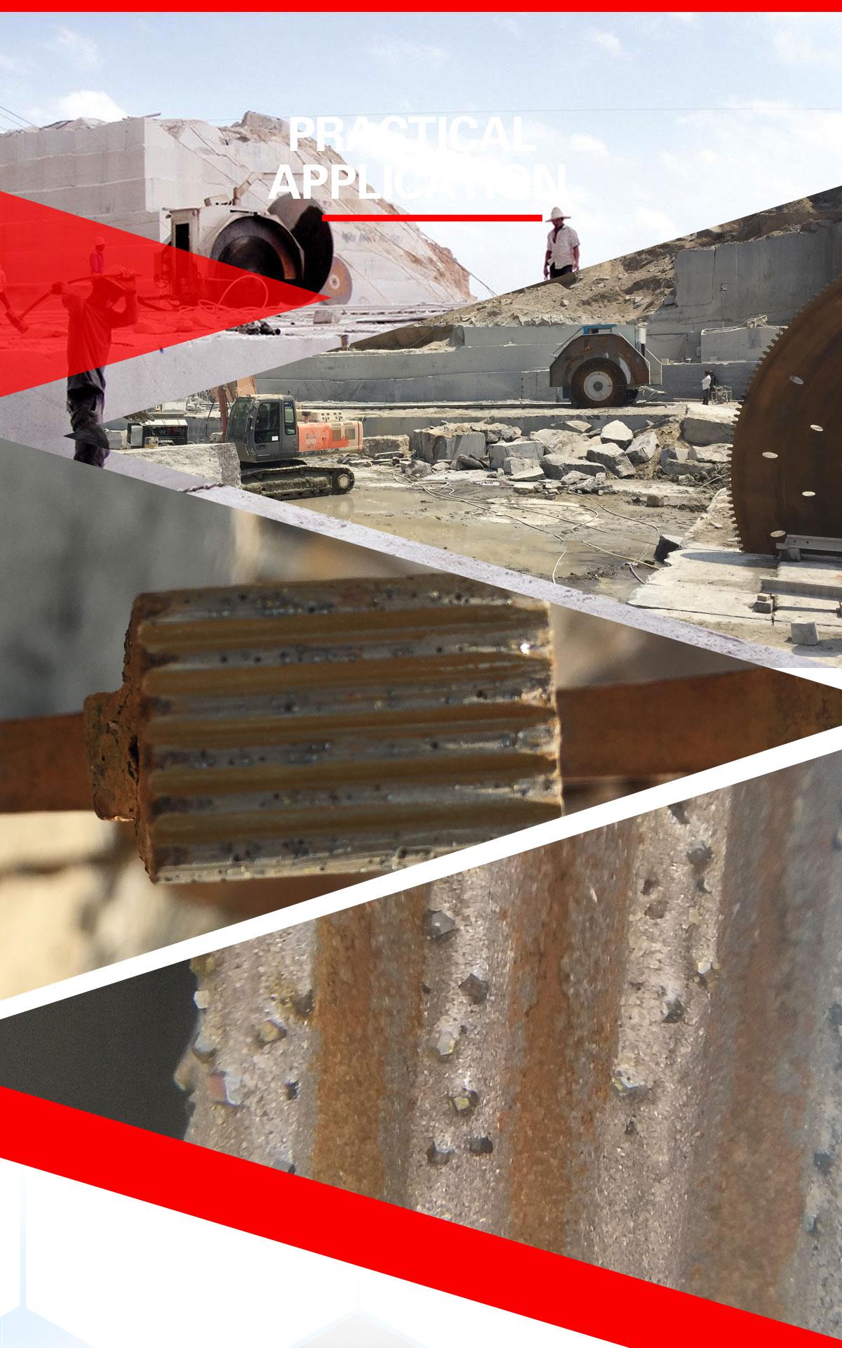 circular saw blade segments, quarry saw blade segments