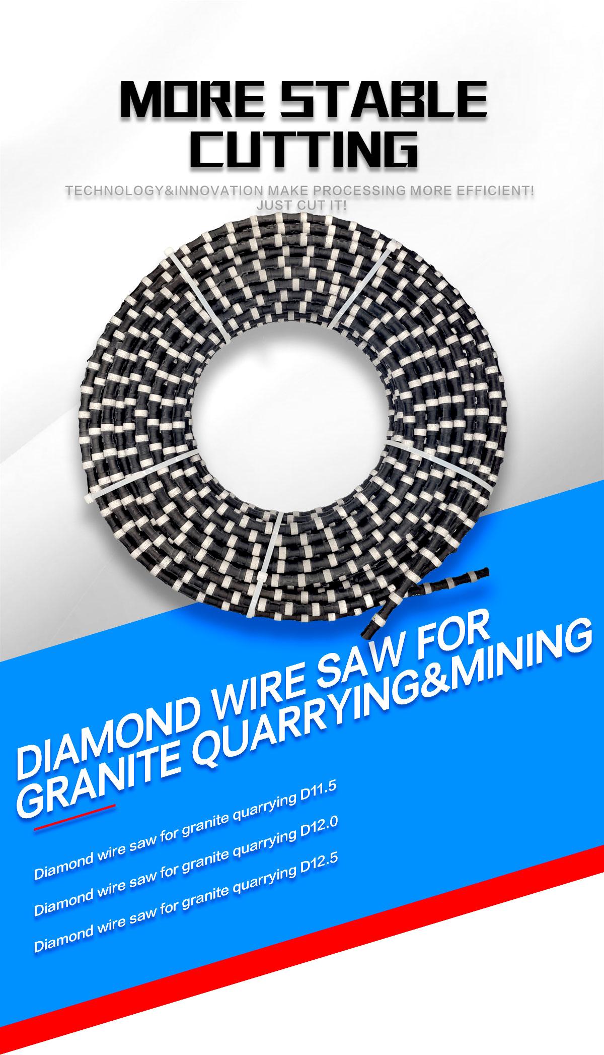 diamond wire saw for mining