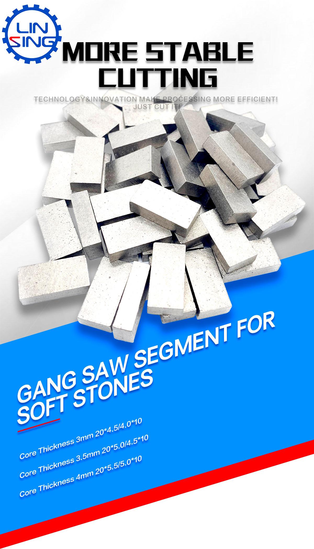 gangsaw segments