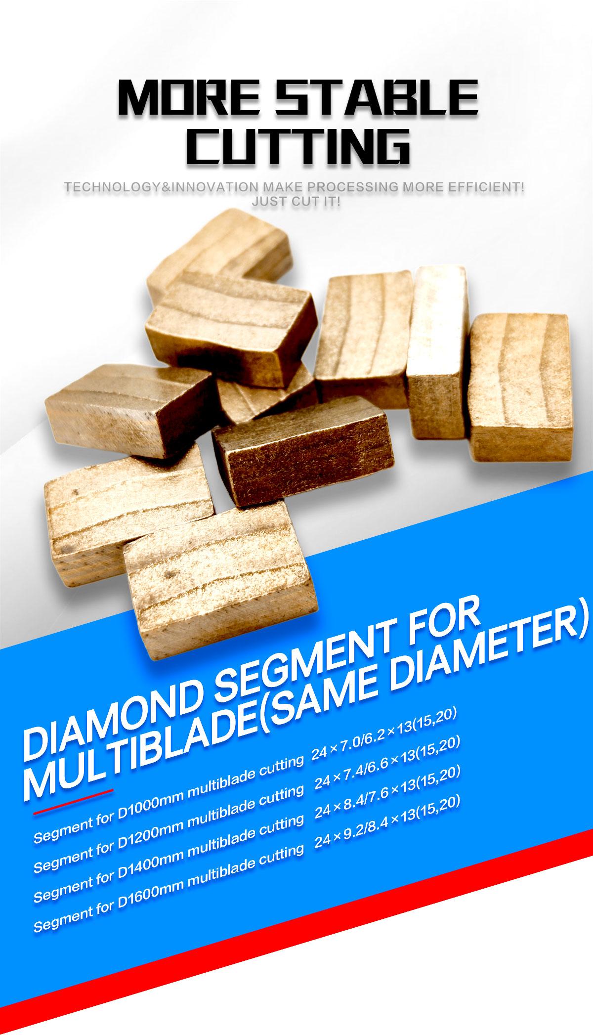 multi-blade segments