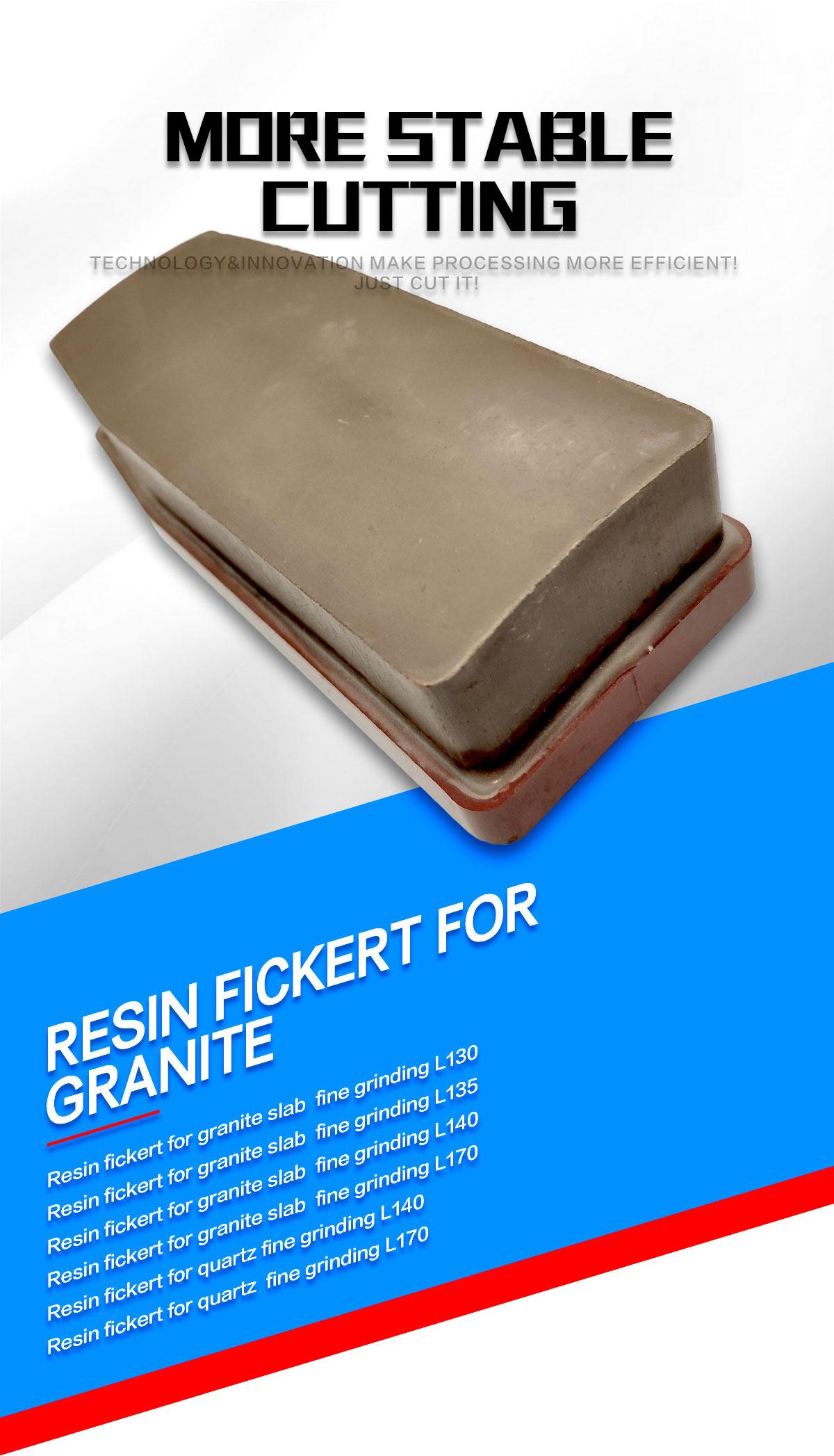 resin fickert for granite grinding
