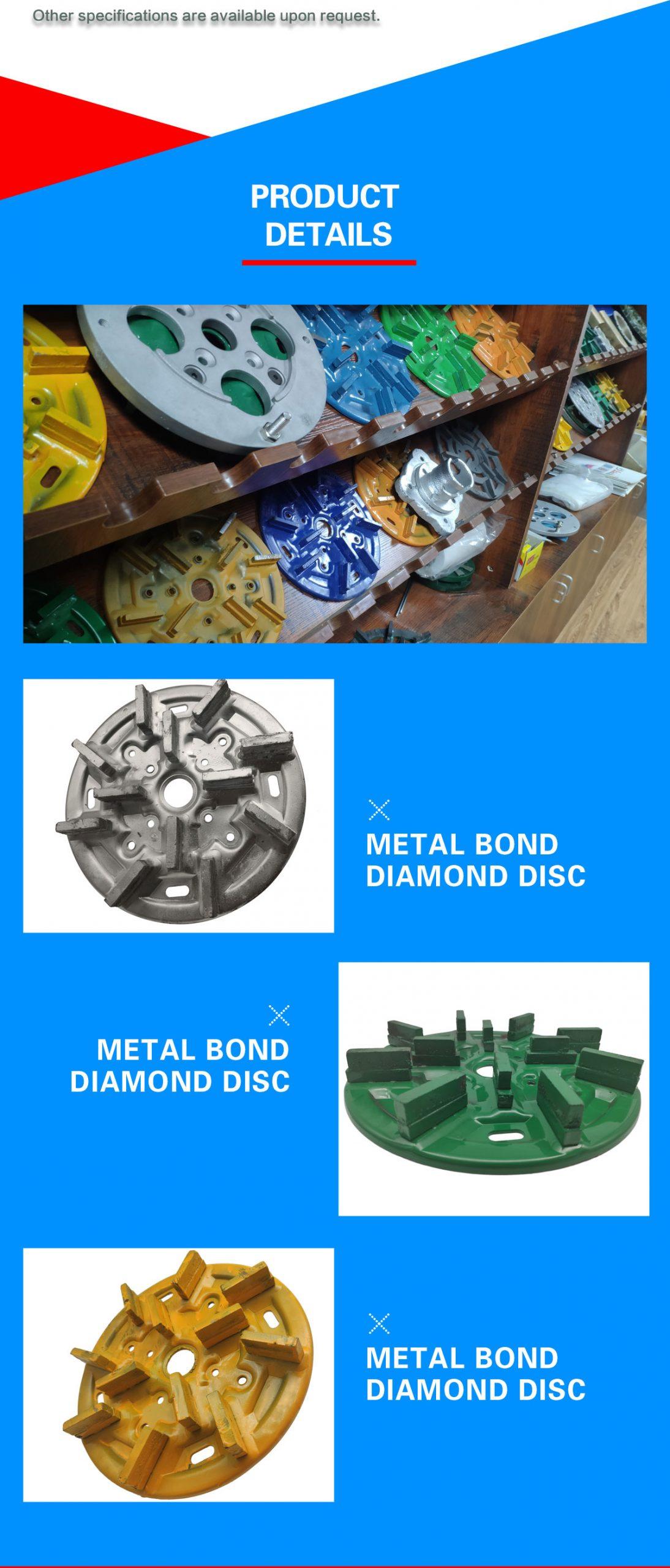 granite grinding and polishing tools