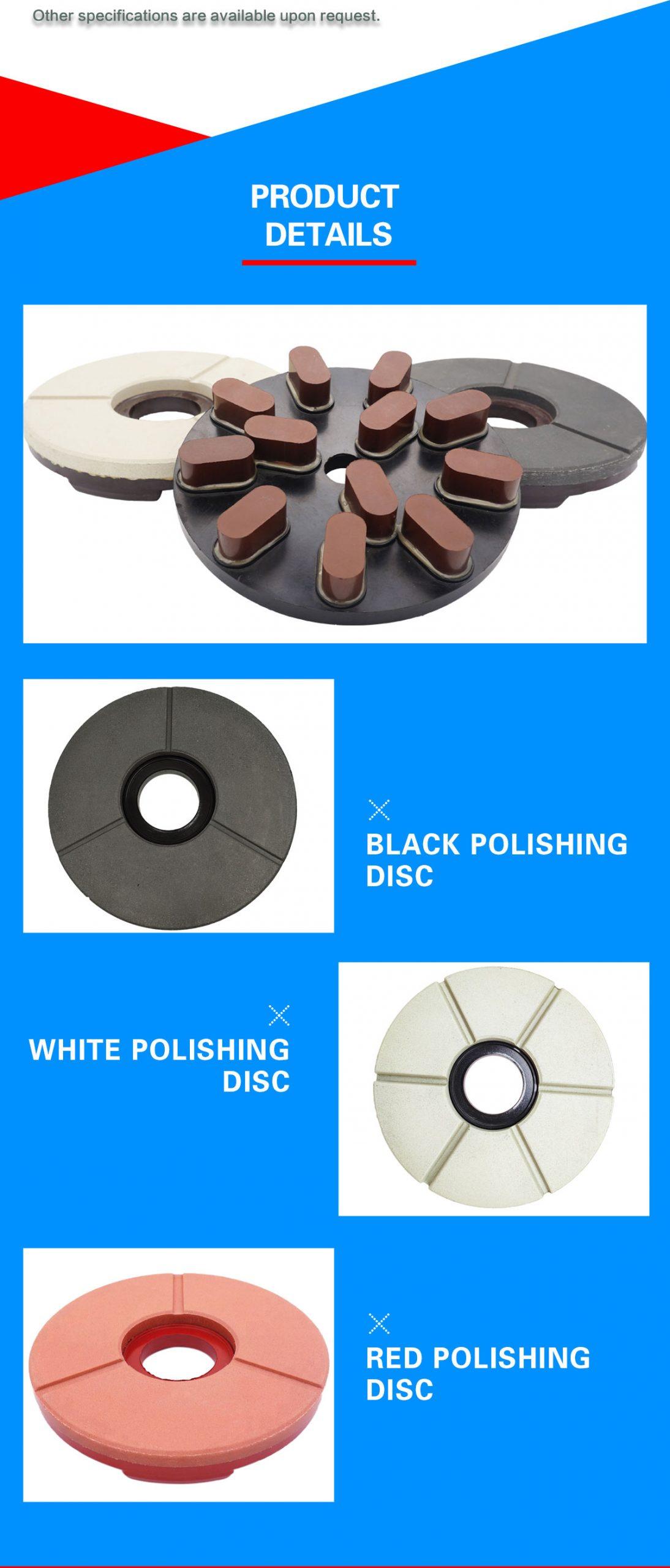 granite slab polishing disc